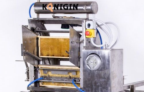 Machines for wax uncapping